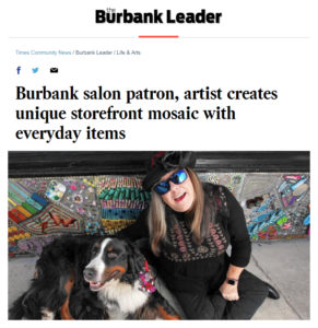 Pastiche Gardens in the Burbank Leader!